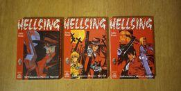"""Sprzedam książki manga """"HELLSING"""" 3 części!"""