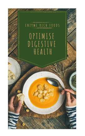 FREE E-book Digestive Health and Enzyme Rich Meal Plan
