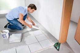 Укладка плитки, ламината, линолеума, поклейка обоев, ремонт квартир.
