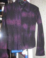 Кофточка кофта блуза блузка р. 44