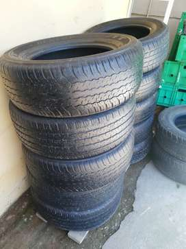 Second hand tyres for sale.