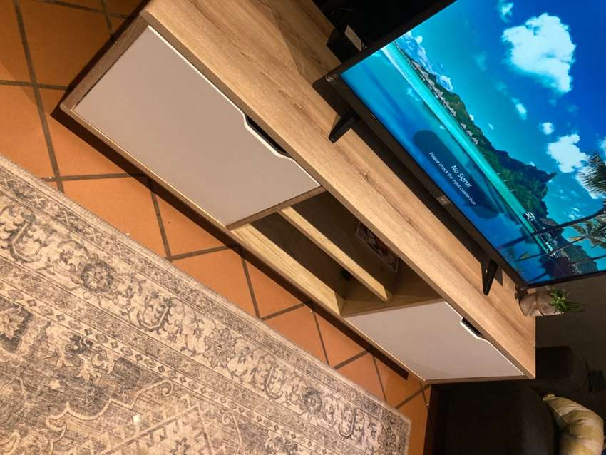 TV stand  Bought in 2020
