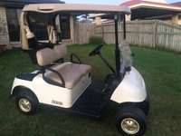 Image of One of a kind golf cart