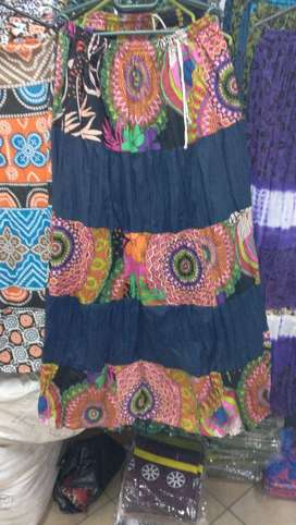 Various clothing items from India