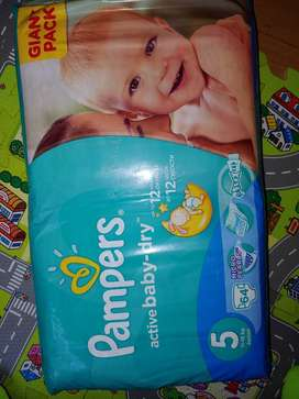 Pampers size 5 and 6 pull ups