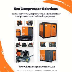 Sales, Services and Repairs to all industrial air compressors