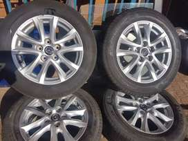 Mazda 3 Complete Set of Mags and Tyres