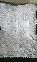 Красивенное покрывало (одеяльце) на выписку или в коляску