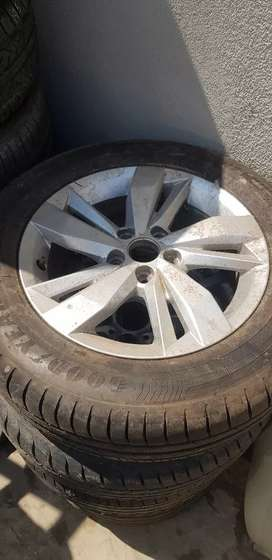 Polo 8 tsi rim and tyre