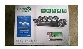8ch cctv kit security system