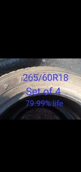 Tyres are available here
