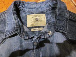 Zara Man koszula męska jeansowa rozmiar M dwie struktury jeansu ideał