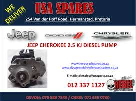 JEEP CHEROKEE 2.5 KJ USED REPLACEMENT DIESEL PUMP FOR SALE