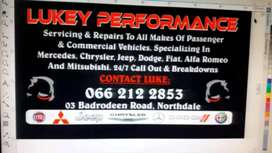 Repairs to commercial,trailers and passenger vehicles