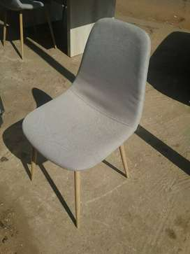 COLE FABRIC CHAIRS AND TABLE