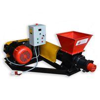 Пресс шнековый модели ПШ1000Б для производства топливных брикетов.