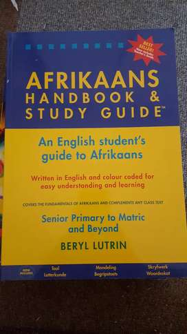 Afrikaans Handbook and Study Guide