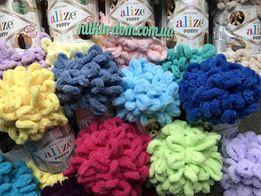 Пряжа для пледов ручной вязки Alize Puffy