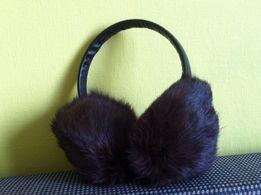 Меховые наушники (кролик)