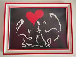 Картина бисером Любовь