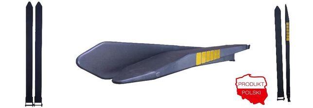 Przedłużki na widły 2200x100x60 przedłużki wideł z atestem Łomża - image 4