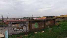 Land for sale next to train and jozi fm