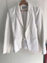 Biała marynarka, żakiet H&M ZARA
