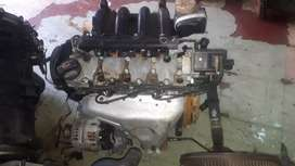 VW polo 1.6 bah engine for sale