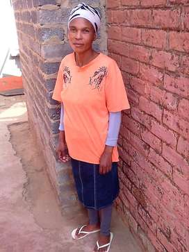 Maid,nanny,cleaner from Lesotho needs stay in work desperately