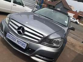 2012 Mercedes Benz C180 with a sunroof