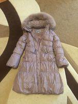 Зимнее пальто-пуховик для девочки