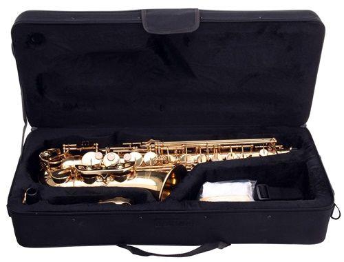NOWY Sakskofon altowy niemiecki Kirstein złoty M408 Zgorzelec - image 5