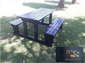 Canteen, restaurant,take away,pub and braai benches