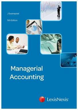 Managerial Accounting - 5th Edition - Brand New