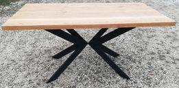 Stół Dębowy Industrial/Loft Pająk