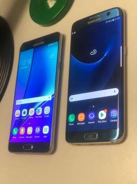 Samsung note 5 and samsung s7 edge