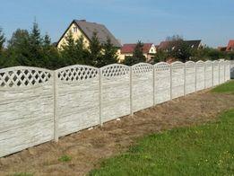 Ogrodzenie betonowe montaz produkcja