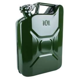 CAN METAL PETROL GRN 10L FOR SALE