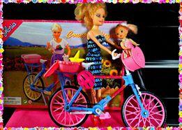 Велосипед Барби,гостиная мебель для Барби