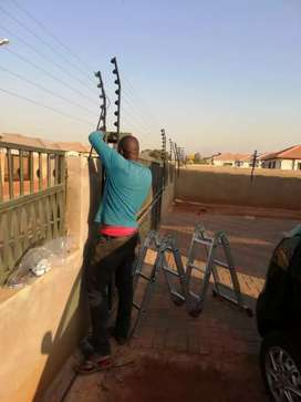 Cctv, gate morters, intercoms, alarm systems and electric fence