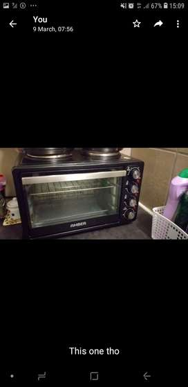 Two Plate Stove & Oven for Sale