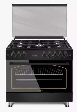 5 Burner Gas Stove with Electric Oven