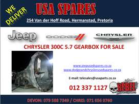 CHRYSLER 300C 5.7 USED REPLACEMENT GEARBOX FOR SALE