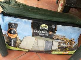 Camp Master Family Cabin 905 9 sleeper Tent for sale.