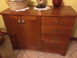 Sprzedam komodę drewnianą drewno kuchnia salon