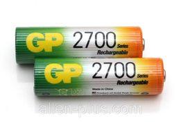 Аккумулятор GP АА 2700 mAh (Ni-MH) (цена за 1 шт)