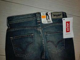 Levi's NOWE jeansy Bootcut 529 rozszerzane nogawki rozm. W26 L34