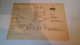 Schemat monoficznego radiomagnetofonu