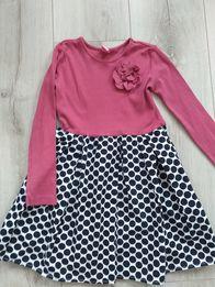 Śliczna sukienka r. 98 J. Nowa
