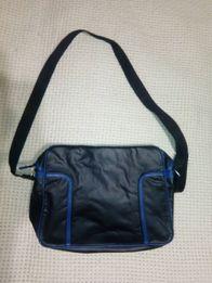 Мужская стильная кожаная сумка oodji. Оригинал.